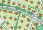 Zeichnung Bebauungsgebiet