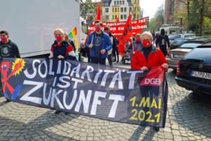 DemonstrationFran 1. Mai 2021